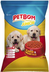 Ração Petbom Junior Cães 8kg